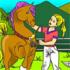 Pferde Malvorlage